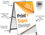 Coroplast Signs are cost effective, durable and portable!